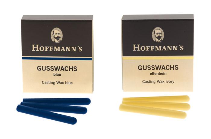 Hoffmann_Gusswachs_elfenbein_blau